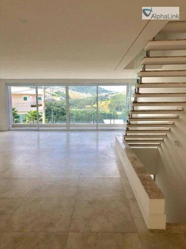Imagem 1 de 7 de Casa Com 4 Dormitórios À Venda, 450 M² Por R$ 3.800.000,00 - Alphaville - Santana De Parnaíba/sp - Ca0738