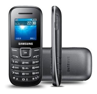 Celular Barato Samsung Keystone2 E1205 1 Chip Promoção+ 2 Brindes