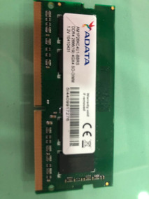 Memória 4gb Ddr4 2666mhz Notebook Adata 1,2 V