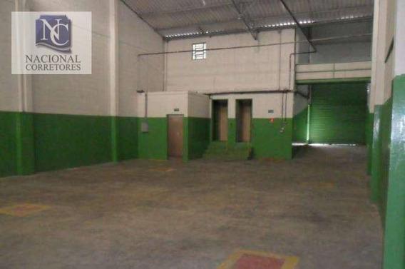 Galpão Comercial Para Locação, Vila Conceição, Diadema - Ga0391. - Ga0391