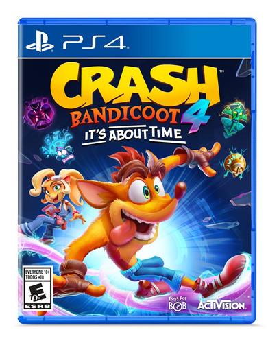 Crash Bandicoot 4 Its About Time Formato Fisico Ps4 Original
