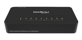 Switch 8 Portas Fast Ethernet Sf800 Q+ Da Intelbras