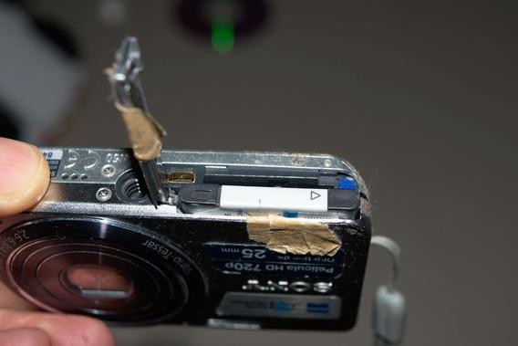 Câmera Digital Sony Cyber Shot Dsc W630 (com Problema)