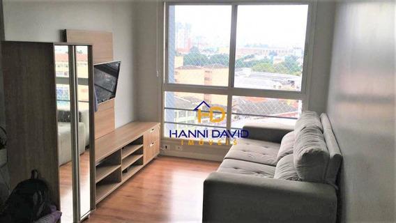 Apartamento Novo, Pronto Para Morar, Com 67m², Três Dormitórios, Sendo Uma Suíte, Sala Para Dois Ambientes, Na Aclimação. - Ap2992