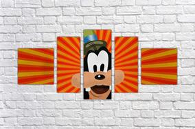 Quadro Decorativo Pateta Desenho Decoração Goofy Decorar 5