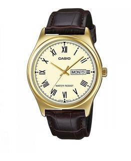 Reloj Casio Mtp-v006gl-9b Formal Ag Oficial Caba Gtia 2 Años
