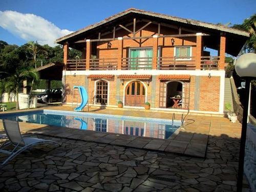 Chácara Com 3 Dormitórios À Venda, 1600 M² Por R$ 900 Mil - Canedos - Piracaia Sp - Ch1156