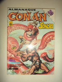Almanaque Conan E Sonja 3 Editora Abril 1984 Otimo