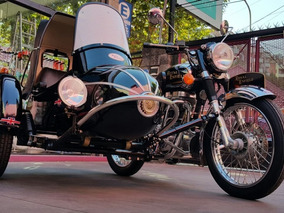 Royal Enfield Bullet Classic 500 Con Sidecar Original