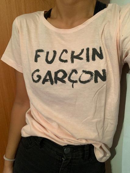 ¡liquido! Remera La Femme De Garcon Garcia, A+