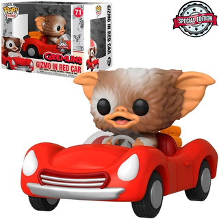 Funko Pop Rides 71 Gremlins Gizmo In Red Car Special Edition