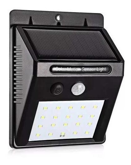 Lampada De Parede Com 20 Leds A Energia Solar Luminária Ac45