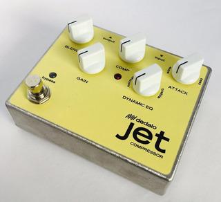 Pedal Efecto Guitarra True Bypass Compresor Dedalo Jet1