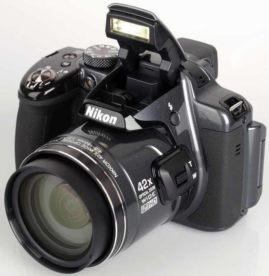 Nikon Coolpix P520 18.1 Mp Cmos Câmera Digital Com 42x