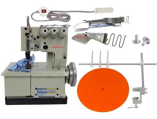 Maquina Costura Galoneira 3 Agulhas + Kit Acessórios