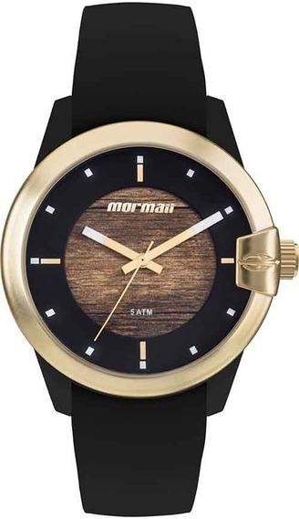 Relógio Mormaii Feminino Wood Mo2035jl/8m