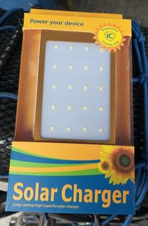 Bonitas Baterías Portátiles Solar Y Corriente