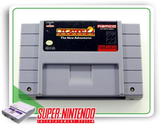 Pac-man 2 The New Adventures Original Snes Super Nintendo