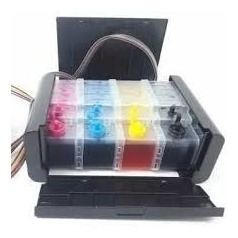 Bulk Luxo Hp 4625 6500 7500 +400ml Tinta +dreno Frete Grátis
