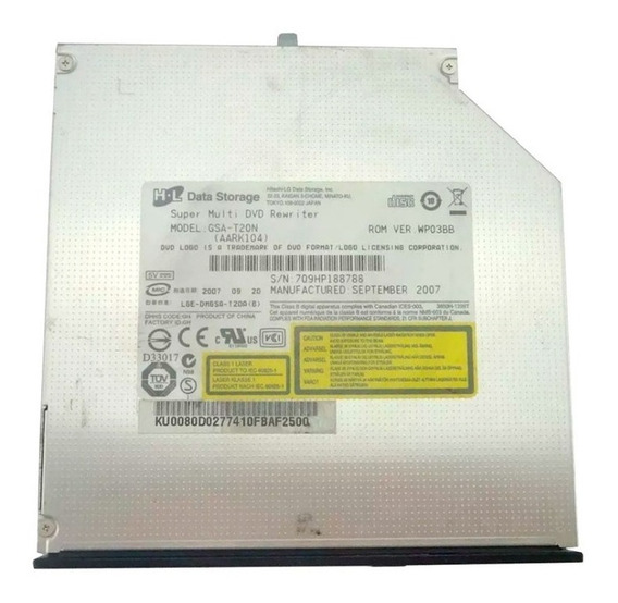 Drive Gravador Cd Dvd Ide Notebook Acer Aspire 4520 4220
