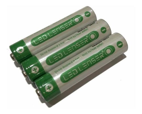 Imagen 1 de 3 de Pilas Led Lenser Aaa Recargables 1.2v 900mah X 3 Unidades