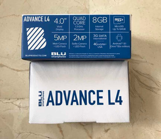 Teléfono Blu Advance L4 Dual Sim
