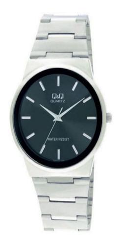 Reloj Q&q Q398-202y Acero Plateado Hombre