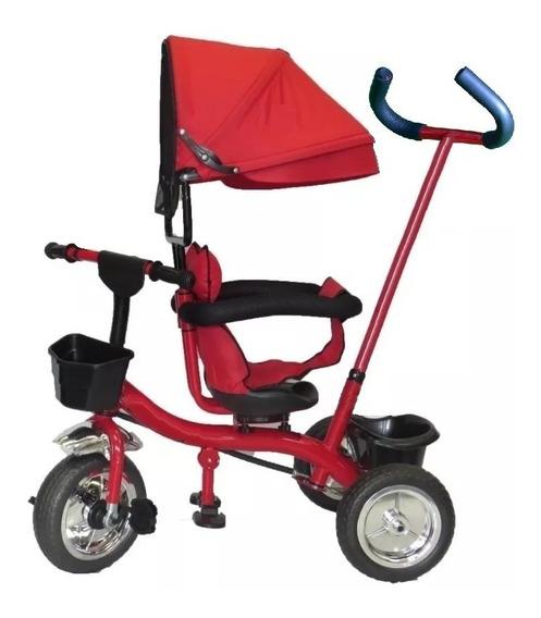 Triciclo Tzt90 Infantil Manija Capota Gira 360 Babymovil