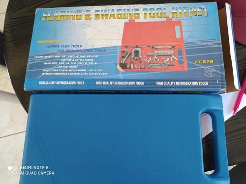 Imagem 1 de 3 de Kit Flangeador, Para Refrigeração Completo