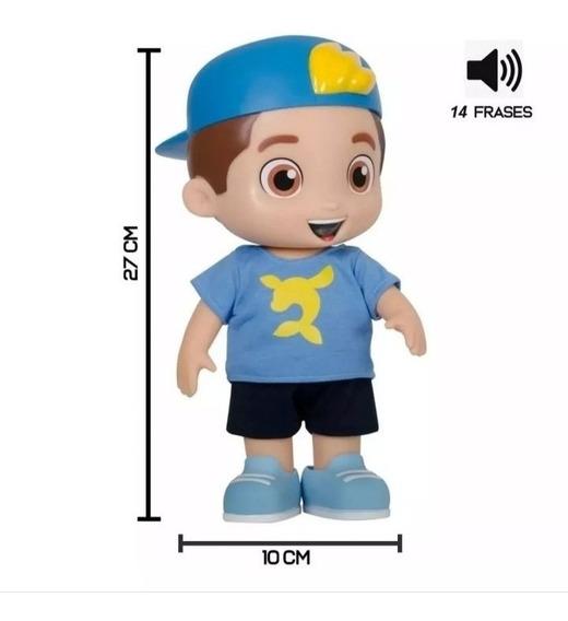 Brinquedo Boneco Luccas Neto Com 14 Frases!! Lançamento