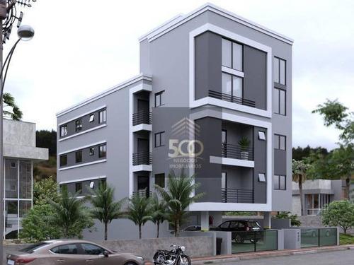 Apartamento Com 2 Dormitórios À Venda, 70 M² Por R$ 214.526,00 - Pagani Ii - Palhoça/sc - Ap1352