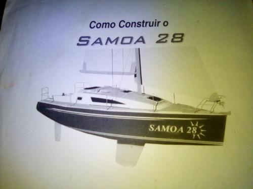 Veleiro Samoa 28 Pés