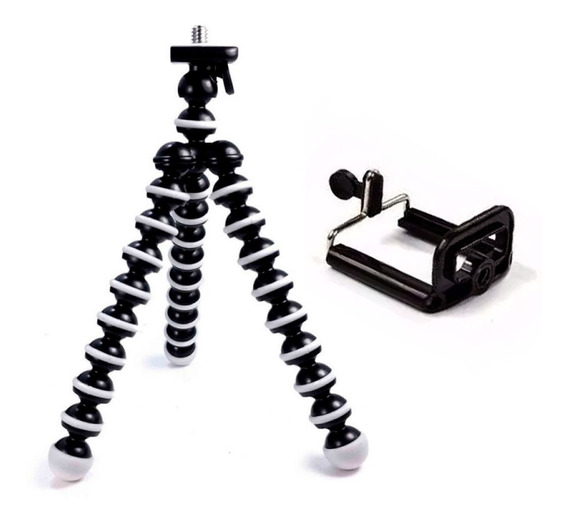 Mini Tripé Flexível Gorillapod Para Celular Ajustavel Modelo