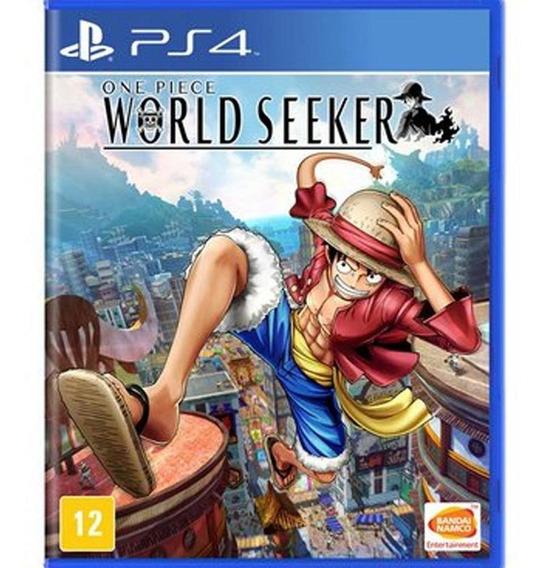 One Piece World Seeker - Ps4 Mídia Física