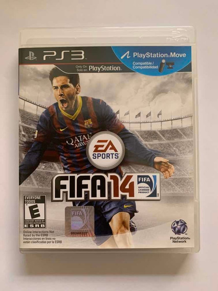 Fifa 14 Playstation 3 Jogo Original Ps3 Mídia Física Game To