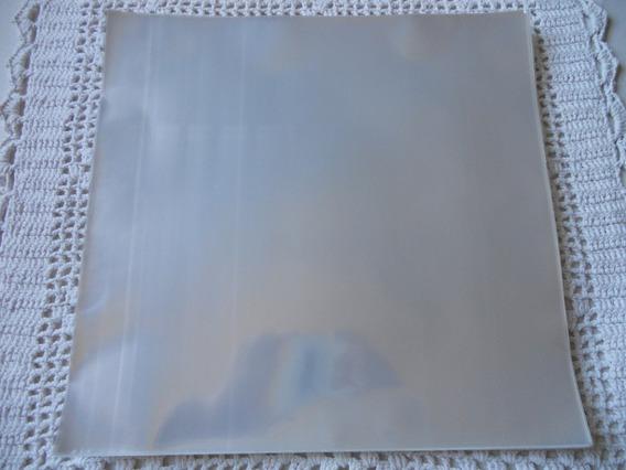 Plastico P/ Vinil Cristal(poliprop.) 32x32.5x0,15 - 50 Un.