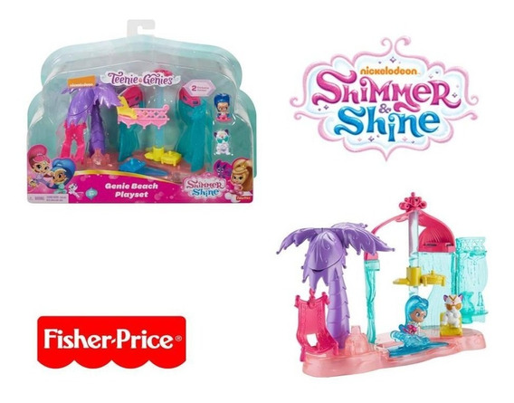 Shimmer & Shine Festa Na Praia - Fisher Price