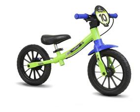 Bicicleta Aro 12 Equilibrio Nathor Cores Sem Pedal Mr507