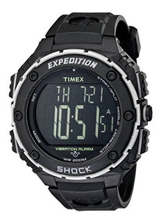 Timex Expedition Super Shock, Negro