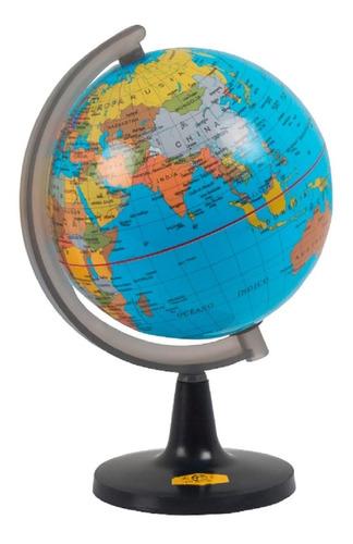 Globo Terráqueo 17cm Diámetro Político Mundo