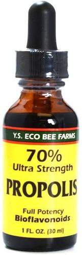 Ys Bee Farms, Extracto De Propoleo Ultra Fuerte, 1 Onza