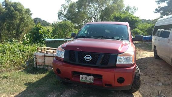 Nissan Titan 5.6l Crew Cab S V8 4x4 At