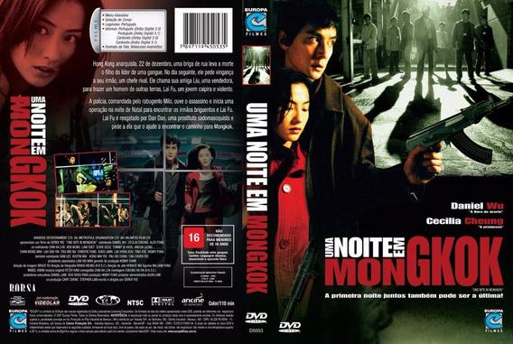 Dvd Uma Noite Em Mongkok - Cine Asiático - Dublado