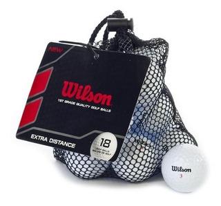 Kaddygolf Pelotas Wilson Distance Golf Bolsa X 18 - Nuevas