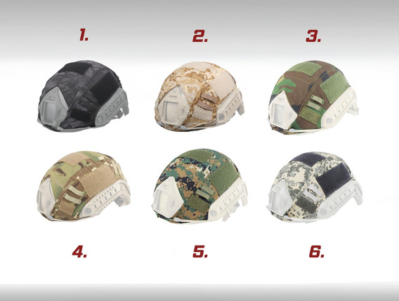 Cubre Casco Cobertor Emerson Militar Forro Paintball Airsoft