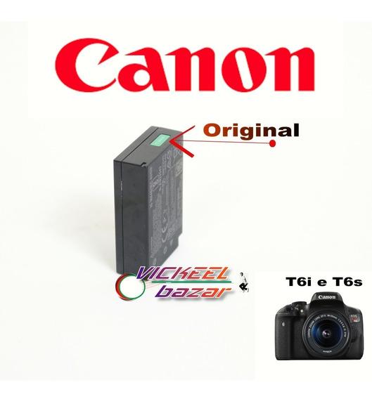 Bateria Para Canon T6i E T6s Original