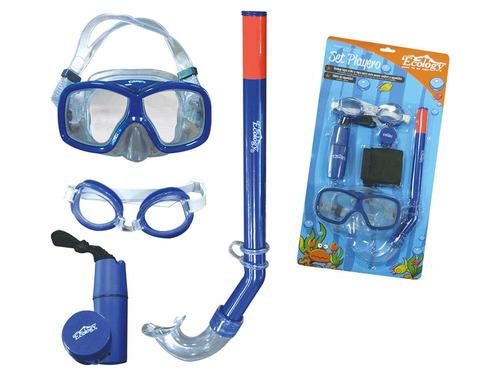Gafas De Natación Y Accesorios De Piscina Ecology Azul
