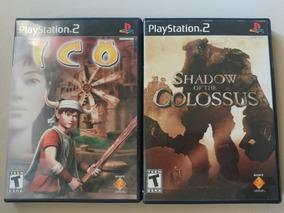 Play 2: Ico + Shadow Of The Colossus Originais Americanos!!