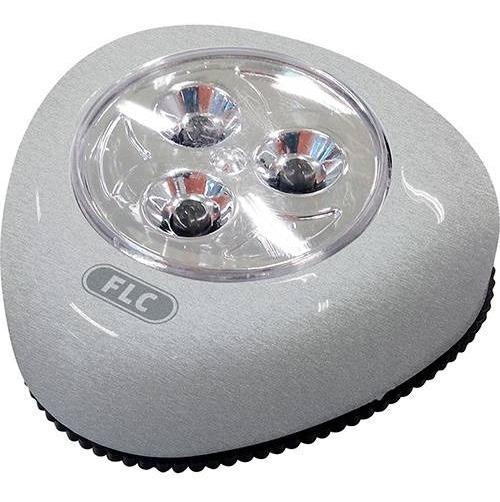Touch Light 3 Led Prata - Flc