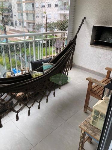 Apartamento À Venda, 81 M² Por R$ 655.000,00 - Vila Isa - São Paulo/sp - Ap4586